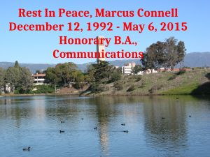 Connell received a post-mortem honorary degree in Comunications from the university.