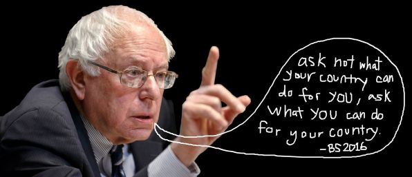 Bernie Sanders photoshop