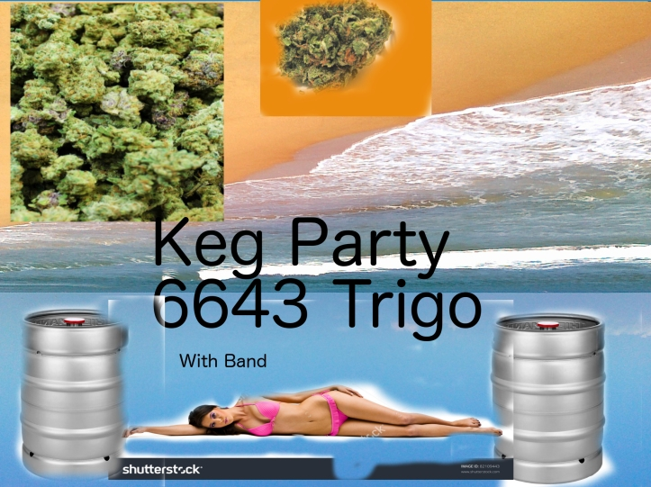 IV KEG PARTY