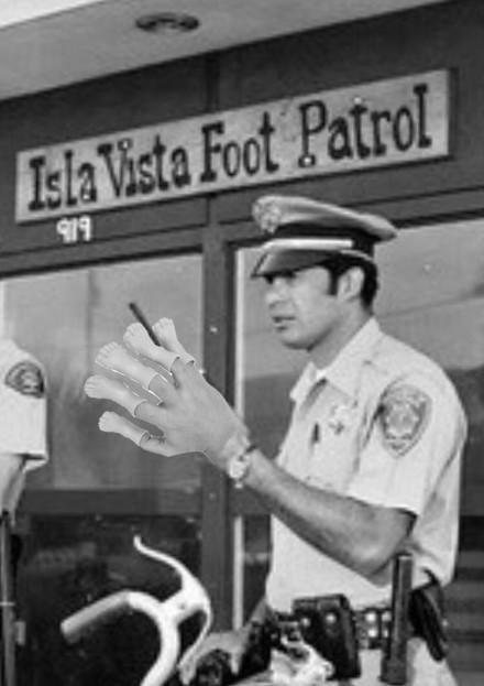 iv foot patrol
